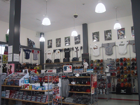 サイン スポーツ品店