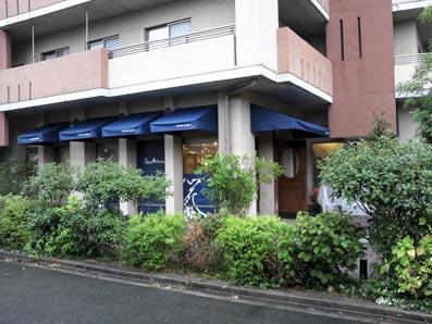 テント 洋菓子店